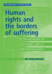 Cover Human rights and the borders of suffering