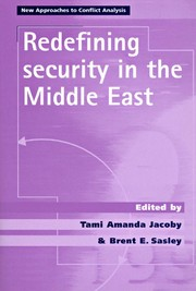 Cover Redefining security in the Middle East