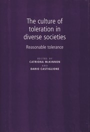 The culture of toleration in diverse societies