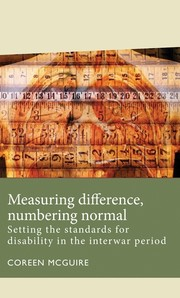 Cover Measuring difference, numbering normal