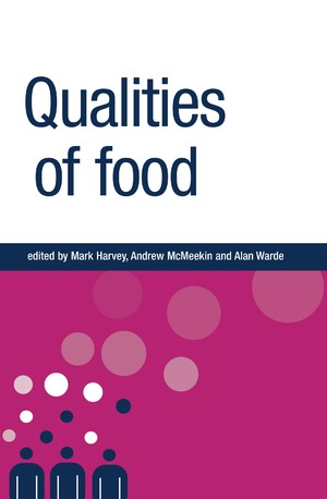 Cover Qualities of food