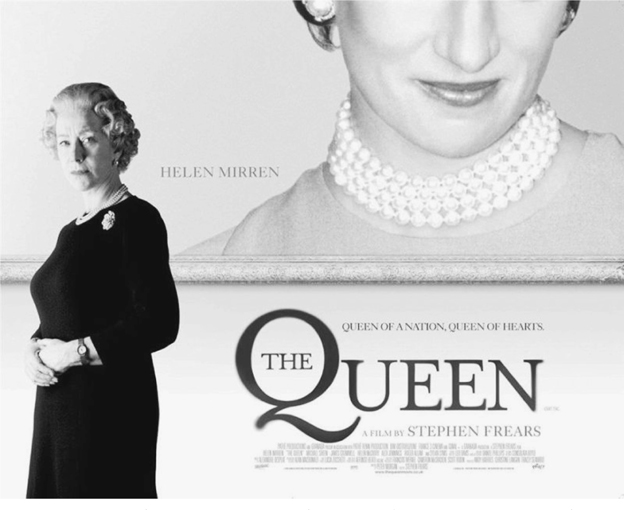 Melodrama, celebrity, The Queen : The British monarchy on screen